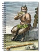 Pan, The Nature-god Spiral Notebook