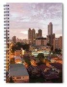 Panama City At Night Spiral Notebook