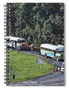 Panama017 Spiral Notebook