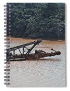 Panama052 Spiral Notebook