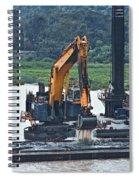 Panama055 Spiral Notebook