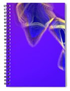 Panel One From Movement In Blue Spiral Notebook