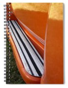 Panel Truck Running Board Spiral Notebook
