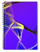 panel two from Movement in Blue Spiral Notebook