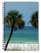 Panhandle Beaches Spiral Notebook
