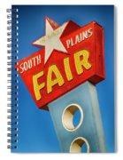 Panhandle South Plains Fair Sign Spiral Notebook