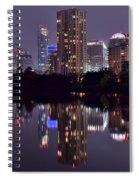 Pano Of Austin Spiral Notebook