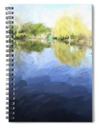 Panorama 2 Of Monets Garden In Giverny Spiral Notebook