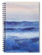 Panorama Ocean Painting Spiral Notebook