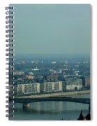 Panorama Of Budapest Spiral Notebook