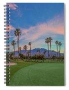 Panorama Palm Springs Golfing Spiral Notebook