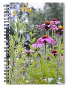 Panoramic Bouquet Spiral Notebook