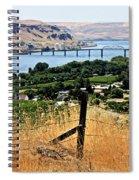 Panoramic Columbia River  Spiral Notebook