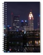 Panoramic Columbus Spiral Notebook