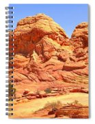 Panoramic Coyote Buttes Landscape Spiral Notebook