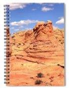 Panoramic Desert Landscape Fantasyland Spiral Notebook