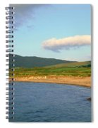 Panoramic View Of Country Cork, Ireland Spiral Notebook