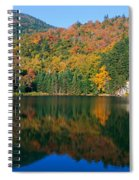 Panoramic View Of Crawford Notch State Spiral Notebook