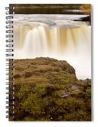 Panoramic Waterfall Manitoba Spiral Notebook