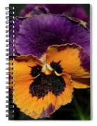 Pansie Spiral Notebook