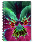 Pansy 01 - Photopower - Thoughts Of You Spiral Notebook