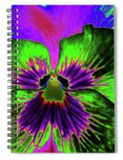 Pansy 06 - Photopower - Thoughts Of You Spiral Notebook