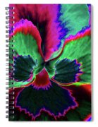 Pansy 10 - Photopower - Thoughts Of You Spiral Notebook