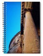 Pantheon Column Spiral Notebook
