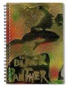 Killmonger Vs Tchalla Spiral Notebook