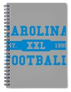 Panthers Retro Shirt Spiral Notebook