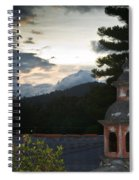 Panza Verde Hotel Roof Top 4 Spiral Notebook