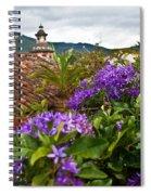 Panza Verde Hotel Rooftop 1 Spiral Notebook