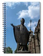 Papa Juan Pablo II - Mexico City I Spiral Notebook