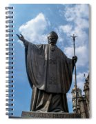 Papa Juan Pablo II - Mexico City II Spiral Notebook