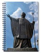 Papa Juan Pablo II - Mexico City IIi Spiral Notebook