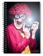 Paparazzi Taking Photograph At Red Carpet Event Spiral Notebook