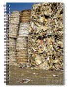Paper For Recycling Spiral Notebook