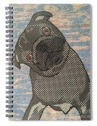 Paper Pug Spiral Notebook