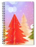 Paper Trees Spiral Notebook