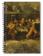 Parable Of The Prodigal Son Spiral Notebook