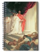 Parable Of The Wise And Foolish Virgins Spiral Notebook