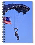 Parachutist Spiral Notebook