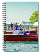 Parade Of Boats 41 Spiral Notebook