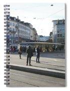 Paradeplatz - Bahnhofstrasse, Zurich Spiral Notebook