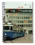 Paradeplatz Zurich Spiral Notebook