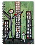 Parades 8 Spiral Notebook