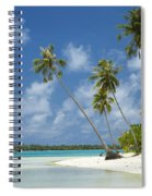 Paradise - Maupiti Lagoon Spiral Notebook