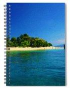 Paradise Island Haiti Spiral Notebook