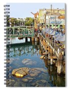 Paradise Pier At California Adventure Spiral Notebook