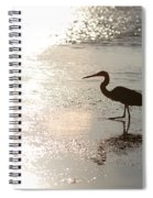 Paradise Silhouette  Spiral Notebook